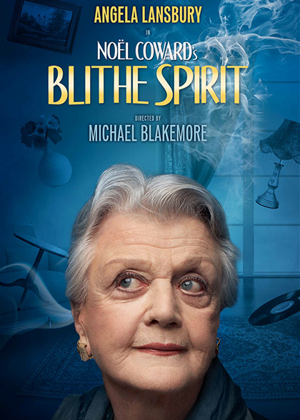 BLITHE SPIRIT STARRING ANGELA LANSBURY TO OPEN AT GIELGUD THEATRE